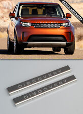 Land Rover Discovery 5 (Released 2017) Stainless Sill Protectors / Kick Plates