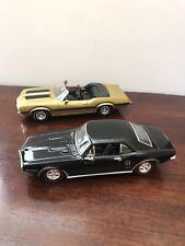 Ertl 1/43 1970 Oldsmobile 442 & 1967 Pontiac Firebird Models
