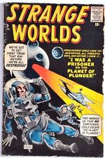 STRANGE WORLDS ATLAS #2 1959 G/VG..DITKO COVER+ ONE STORY!!ALSO HECK+AYERS