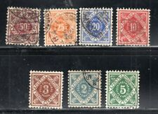 GERMANY GERMAN COLONIES USED   STAMPS    LOT 22916