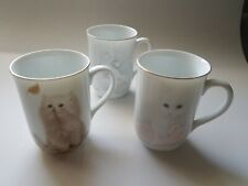 Otagiri Bob Harrison Kitten Cat Mugs Cups - THREE