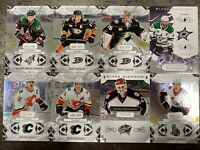 2018-19-20 BLACK DIAMOND 8x BASE LOT BOBROVSKY GETZLAF CHABOT IGINIA GIBSON /249