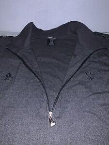 Adidas Toronto Raptors Full Zip Up Gray Jacket Mens Size 3XLT