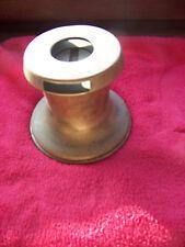 Antike Winsch ( Fockwinsch, Flachkurbel ) aus Bronze für histor. Yachten