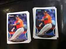 2013 Bowman Draft #10 Jose Fernandez 13 count RC lot, 7 chrome, 6 base Marlins