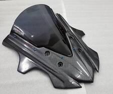 HONDA CBR650F FIT FRONT SHIELD K2 BLACK WINDSCREEN ABS AIR ROCK