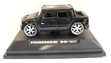 ROAD SIGNATURE (YATMING) HUMMER H2 SUT SCALE 1:72 BOXED BLACK