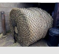 Wild Boar Extra Large Round Bale Haynet  Small 50mm Holes Slow Feed Size 3m X 2m