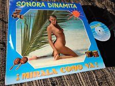 SONORA DINAMITA La internacional SEXY NUDE COVER LP 1988 SPAIN *LATIN*