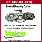 835068 GENUINE OE VALEO SOLID MASS FLYWHEEL AND CLUTCH FOR PEUGEOT 307