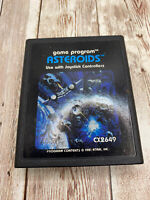 Asteroids Video Game Cartridge CX2649 for Atari 2600. Cart Only, Used.