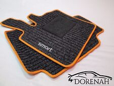 Fortwo Forfour W 453 Originale Smart Rips Tappetino Piede Tappeto Set 2 Pz Ant.