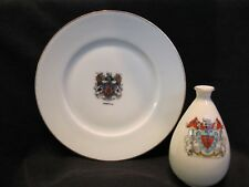 Crested China - Arcadian Vase - Union Plate - Hereford