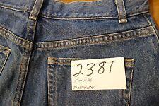 #2381 L L Bean Classic Fit / Curvy 100% cotton women jeans size 10 Reg.