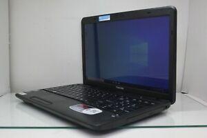 "Toshiba Satellite C655D-S5337 15.6"" AMD E-450 4GB RAM 320GB HDD Windows 10"