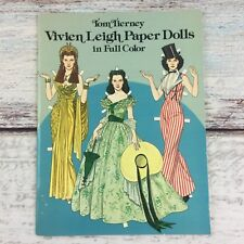 Vivien Leigh Paper Dolls in Full Color book, Tom Tierney 1981 Dover Publication