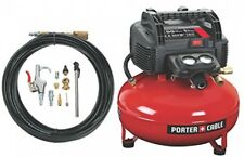 Porter-Cable C2002-Wk Oil-Free Umc Pancake Compressor With 13Piece Accessory Kit