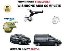 Per Citroen Jumpy + Van 2007 - > NUOVO 1X Sospensione Anteriore Braccio Oscillante Inferiore Destro Braccio