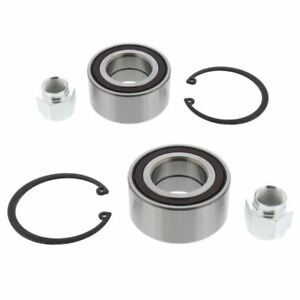 For Peugeot 207 2006-2014 Front Wheel Bearing Kits Pair