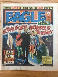 Eagle and Scream #128 1/9/84 Dan Dare, Doomlord, 13th Floor, IPC UK comic