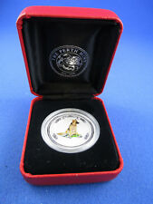 2006 50c 1/2oz Silver Coin - LUNAR YEAR OF THE DOG - COLOURED - PERTH MINT!!