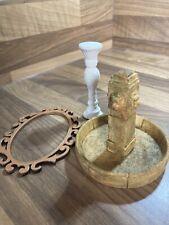 Casa De Muñecas Miniaturas paquete fuente, marco, Pedestal