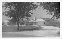 Plainfield Illinois 1940s Postcard Sleepy Hollow Motel near Joliet