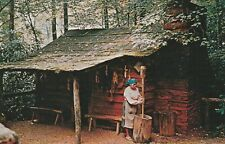 Native Americana - Cherokees Pounding Corn for Cooking