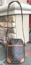 Rare LOUIS VUITTON LV Monogram DANUBE GM Crossbody BAG Authentic