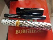 Borghese Timeless Classics (Black) Mascara, Eyeliner And Lipstick Grappa Nib