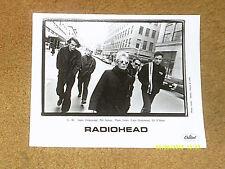 "Radiohead promo 8"" x 10"" photo from '95 Capitol (Nm shape)"