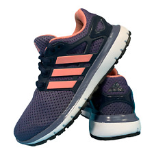 Adidas Energy Cloud Women's Shoes Size Uk 4 Purple Running Trainers EUR 36.5