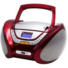 Tragbarer CD Player Kinder Radio Stereoanlage mobile Musikanlage USB MP3 Boombox