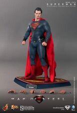 "Superman The Man Of Steel Henry Cavill 1/6 Marvel MMS200 12"" Figur Hot Toys"
