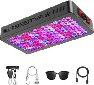 Bestva Dc Series 1500W Led Grow Light Full Spectrum Dual-Chip Growing Lamp For H