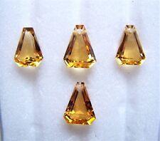 Citrin  Herz 9 x 9 mm gelb gold orange ca 2,30 Carat