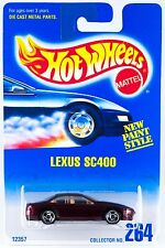 Hot Wheels Collector No.264 Lexus SC400 SB's 12357 1996 New On Card