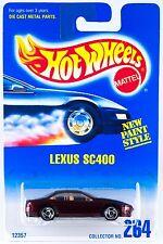 Hot Wheels Collector No.264 Lexus SC400 SB's 12357 1996 New On Card
