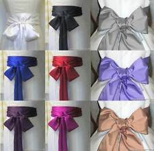 "2.7""x109"" satin sash belt ribbon for WEDDING bridesmaid flower girl fancy dress"