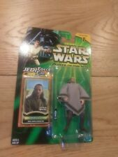 Star Wars Qui-Gon Jinn POTJ Jedi Force File 2000 Hasbro Sealed