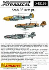 Xtradecal 1/48 Messerschmitt Bf-109E/F/G part 1 # 48169