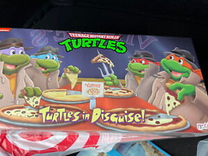 NECA TMNT Turtles In Disguise Figure 4 Pack Set Target Exclusive IN HAND! NEW!!
