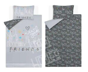 Friends TV Series Reversible Single Double Duvet Set Bedding Set Adults Kids NEW