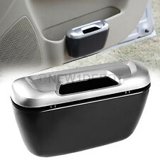 Silver&Black Cargo Trash Can Carbage Storage Container For VW Touran Touareg ND