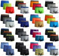 3,6,12 Pieces Pack Mens Cotton Rich Boxer Shorts Gift Underwear Trunks S,M,L,XL