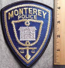 MONTEREY CALIFORNIA POLICE PATCH (HIGHWAY PATROL, SHERIFF, EMS)
