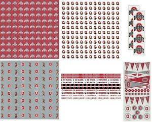 Ohio State University Scrapbook Kit Paper Stickers YOU PICK FROM 7 ITEMS