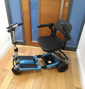 2019 Blue Luggie Elite Deluxe  Mobility Scooter, FREE UK DELIVERY INCLUDED.