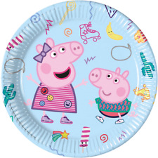 Peppa Pig Birthday Party Lunch Plates - 8 Pack