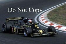 Mario Andretti JPS Lotus F1 Season 1976 Photograph